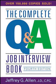 Job Interview Books The Complete Q A Job Interview Book 4th Edition Personal Career