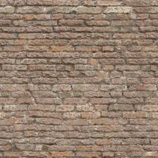 seamless brick wall in faded grey color with scratches and holes