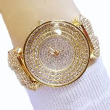 Diamond Bracelet Gold Women <b>Luxury</b> Austrian <b>Crystal Big</b> Watch ...