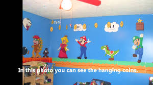Super Mario Bedroom Most Amazing Super Mario Brothers Bedroom Ever Youtube