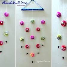 wall decoration ideas with paper wall decoration idea how to make easy paper hanging for with wall decoration ideas with paper