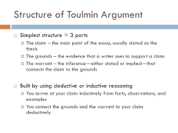 chapter rogerian argument toulmin logic and oral arguments 9 structure