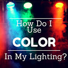 what are the rules to using color in stage lighting learn stage lighting com