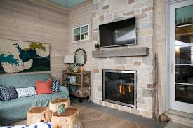 indoor outdoor fireplace see thru home design ideas in excellent wood styles