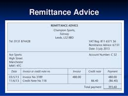 Payment Remittance Template Custom 48 Free Remittance Advice Templates Word Excel PDF Templates