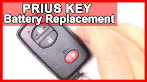 How to Prius Smart Key, Battery Replacement Tutorial on 2010-2015 ...