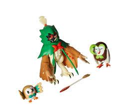 Pokemon Decidueye Evolution 3 inch Action Figure - Rowlet for sale ...