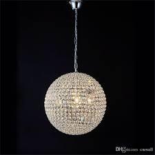 crystal pendant lighting. LED Crystal Ball Lighting Pendant Lights Minimalist Living Roombedroomdining Roomhallway K9 Lamp A