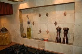 stone tile kitchen countertops. Interior. Mall Kitchen Decoration Design Ideas Using Light Brown Stone Tile Stove Backsplash Including Countertops