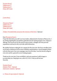 Character Reference Letter 30 Samples For Court Immigration Job