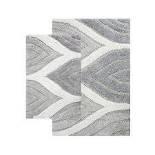 chesapeake merchandising davenport 2 piece bath rug set 21 by 34 inch