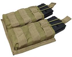 Ar15 Magazine Holder SPEC AR100 Open Top Magazine Pouch with Bungee Retention System 90