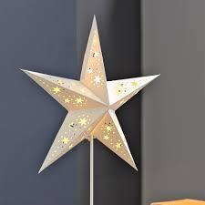 Led Stern Auf Fuß Weiß Batteriebetrieben
