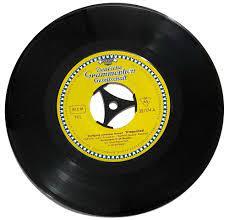 Wiegenlied. 1x Brahms, 1x Mozart. Vinyl-Single von Deutsche Grammophon, 32  074. ID25005