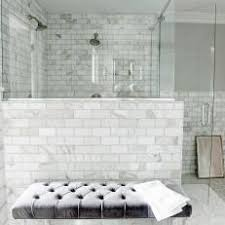 marble tile shower. Elegant Marble Tile Bathroom Shower D