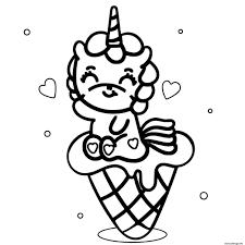 Téléchargez cette image gratuite à propos de cornet de crème glacée desserts de la vaste bibliothèque d'images et de vidéos du domaine public de pixabay. Coloriage Bebe Licorne Mange Un Cornet De Glace Dessin Licorne A Imprimer