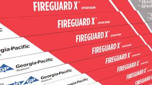 Fire Rated Type X Gypsum Board Toughrock Fireguard X