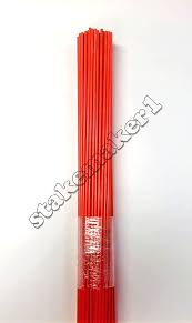 driveway markers snow stakes 50 pack of 48 inch long orange markers 94922409102