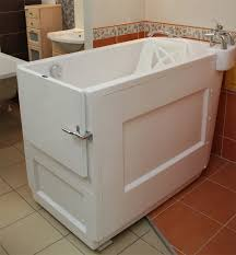 budo plast sensation revolutionary bath with movable seat for disabled people
