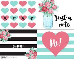 Free Printable Note Cards Free Printable Retro Notecards Capturing Joy With Kristen Duke