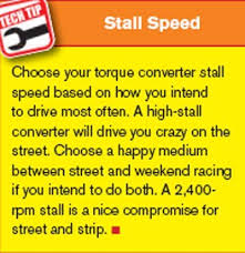 Torque Converter Selection Chart The Ultimate Ford Transmission Torque Converters Guide By