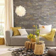 mosaic wall decor: elegant small eclectic living room elegant small eclectic living room design with natural decoration download by mosaic slate stone wall tree trunk coffee table modern c contemporary stone wall home decor home decorations decor traditi