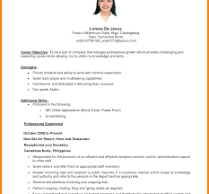 How To Write Career Objective In A Resume For Freshers Fresher