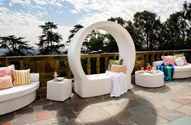 elegant outdoor furniture. Modern And Elegant Seating Design Ideas For Outdoor Furniture, Chill Lounge Series By La Fete Furniture .