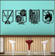 Small Picture Decal Removable Home Decor Vinyl Decal Cartoon Attack On Titan