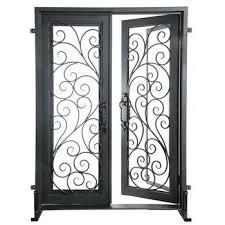 clear glass door with best iron doors double door exterior door with clear glass clear glass door
