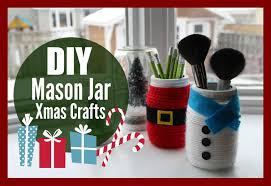 Ideas For Decorating Mason Jars For Christmas DIY Mason Jar Christmas Crafts with HealthNut Nutrition YouTube 100