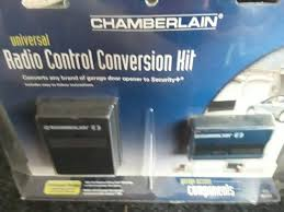 chamberlain 955d universal remote control replacement kit blue garage door