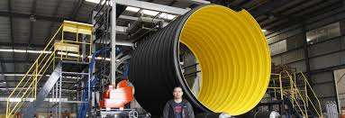 dn 3000 steel reinforced corrugated pipe