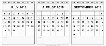July August September 2019 Calendar July Month Calendar