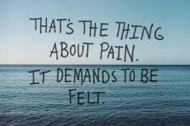 Schmerz Verlangt Gespürt Zu Werden Linislife