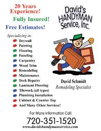 handyman estimating software free handyman business cards