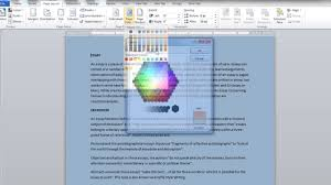Small Picture How To Change Page Color In Word glumme