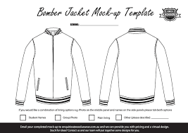 ex er exodus custom made er jacket design template