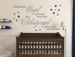 Wandtattoo Kinderzimmer Sprüche Schlaf Kleiner Engel Nr 1