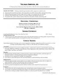 Sample Nursing Resume New Graduate Exeptional New Grad Nursing Resume Sample Registered Nurse 60 1