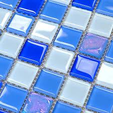 crystal glass mosaic tiles design kitchen bathroom wall floor backsplash stickers