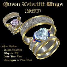 egyptian wedding rings. queen nefertiti wedding rings (sm5) egyptian