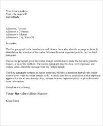 business closing letter personal business letter sample 6 examples in word pdf