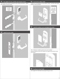 Schlage Entry Door Lock Manual - Home Design - Health-support.us