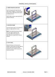 Water Wall Design Guidelines Installation Manual Hydrowall Superwall Cladding Systems