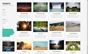 Wordpress Photo Gallery Theme Pronto Free Awesome Gallery Theme For Wordpress