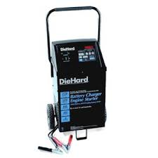 diehard battery charger tester jump starts sears diehard platinum microprocessor controlled wheeled battery charger w tester outlets alternate image