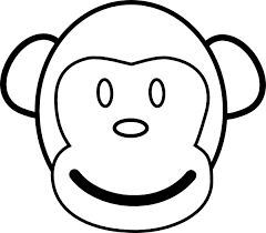 Small Picture Innovative Monkey Coloring Pages Gallery Kids 688 Unknown