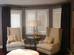 photo of bay window curtain rod in ingenious mounting all about home design that spectacular