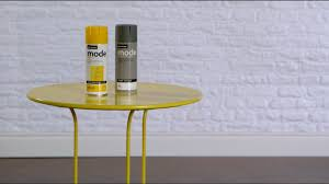 how to spray paint a metal table